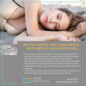 Dr. Gerth breast augmentation poster