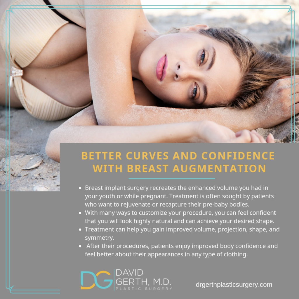 Gerth Breast Augmentation Flyer - Better Curves and Confidence with Breast Augmentation
